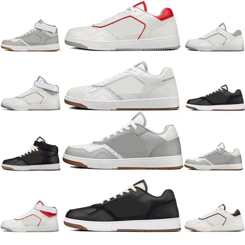 2021 디자이너 남성 여성 B27 신발 레저 낮은 상위 높은 스포츠 Leathe Luxurys 디자이너 TPU 하단 크기 36-45