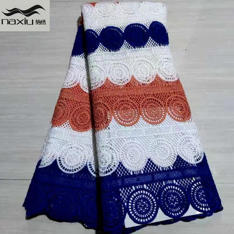 Камни африканские кружевные ткани нигерийские африканские камины кружева кружевной ткани водорастворимые для партии материал для свадебного платья