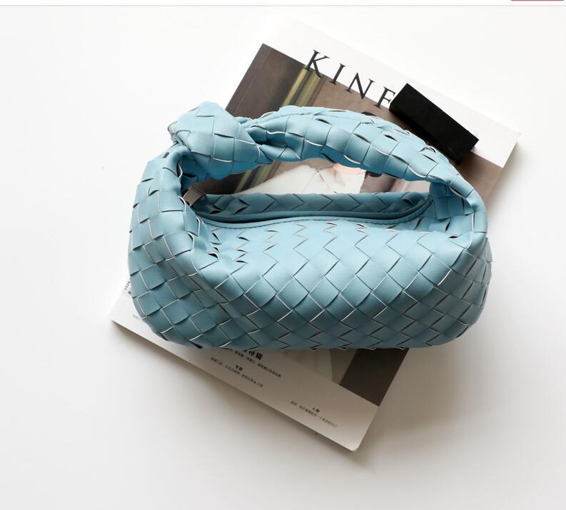 HBP Das neueste Rindsleder-Leder-Knoten-Tasche Weben von echtem Leder handgefertigte Sling-Taschen große Kapazität Shopper-Taschen Luxus-Designer-Totes