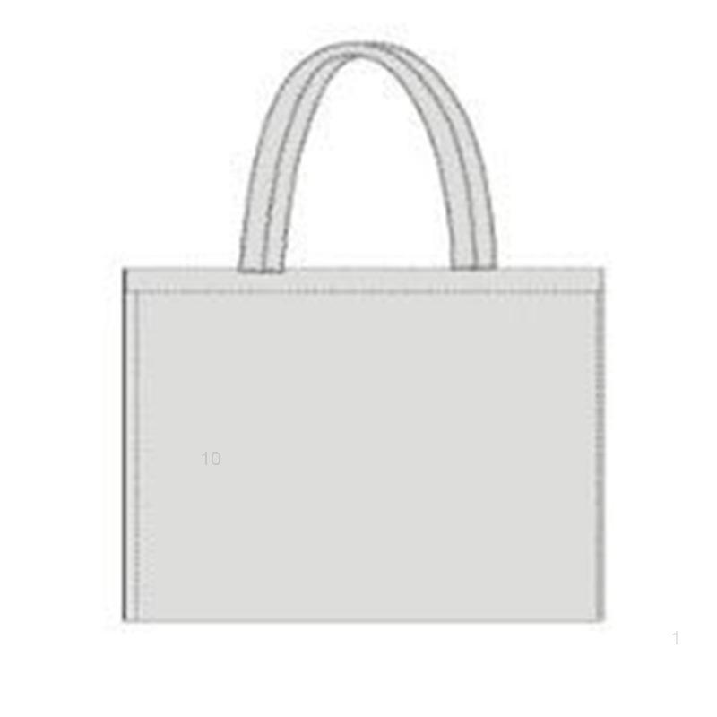 حقيبة تسوق العملاء DIY التخصيص حماية البيئة جودة عالية قابلة للطباعة الساخنة بيع