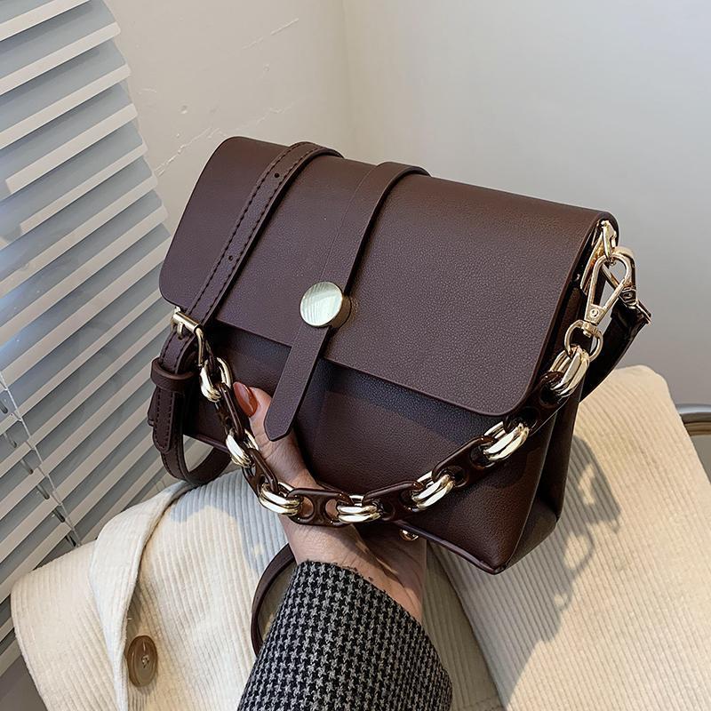 Сумочка маленькая маленькая сумка для поперечины женщины для кожи модные сумки сумки цепь PU рука 2021 дамы дизайнерские сумки kwteg
