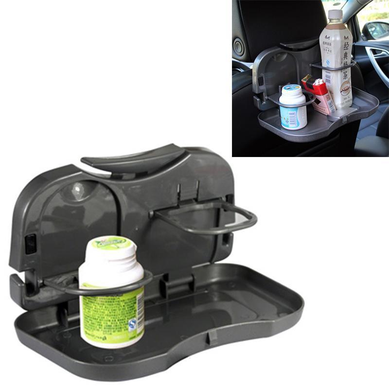 Car Rear Seat Multifunctional Folding Drink Holder