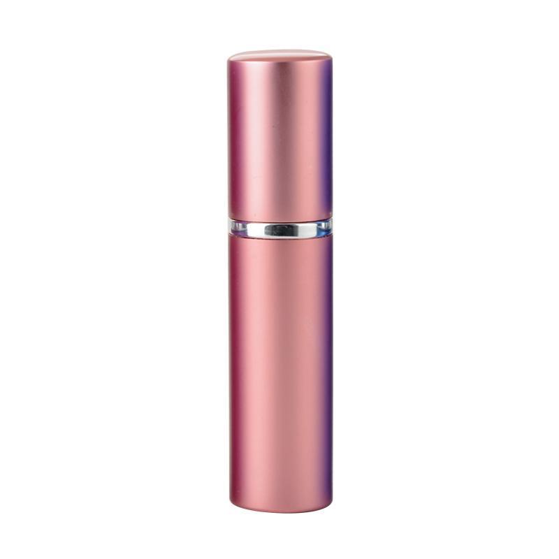 Aluminium Parfüm Flasche 5 ml Tragbare nachfüllbare Glas Parfüm Flasche Aluminiumspritzer leerer kosmetischer vial Parfüm Zerstäuber Reisen