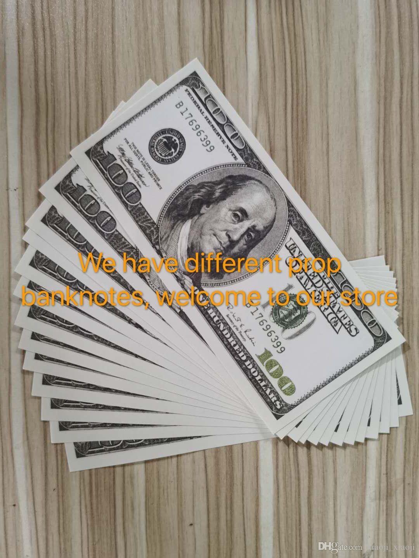 Старые деньги банкнота коллекция предпринима фильма опор доллар доллар долларов 100 поддельных вечеринок игры продажи деньги 36 горячие подарки бар Qiqhk