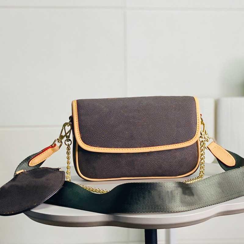Сумка Печатная сумка Круглая сумка Золотая монета Crossbody Calf Ремешок стеганая гладкая волновая цепь сумка на плечо женщины кожаный кошелек XMGTT VIIMF