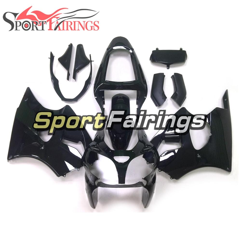 Motorycle Complete Fairings For Kawasaki ZX6R 2000 2001 2002 ZX6R 00 01 02 Sportbike ABS Plastic Injection Bodywork Gloss Black