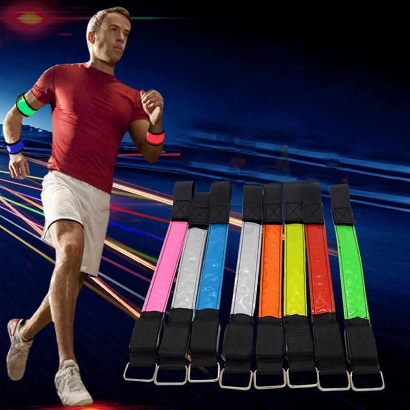 Horse Leg Straps LED Lighting Strip Night Horse Riding Equipment Outdoor Sports Night Running Cycying Safety Arm Warning Belts