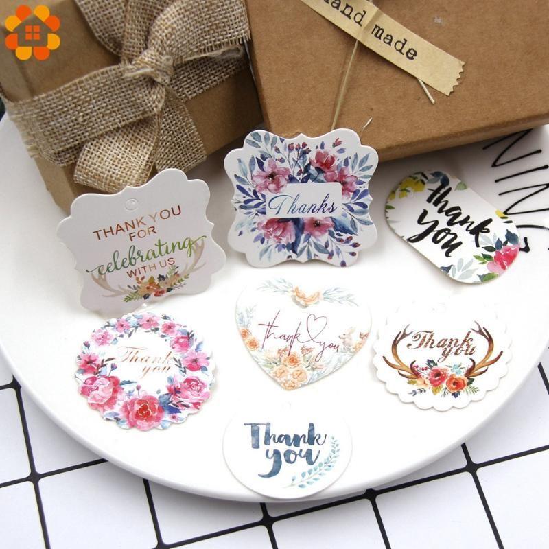 Parti Favor 50 adet Çoklu Tipi Kraft Kağıt Etiketleri DIY Craft Etiket Ile Düğün Için Düğün Için Sevgililer Günü Not Asmak Etiketi Hediye Kutusu Sarma Malzemeleri