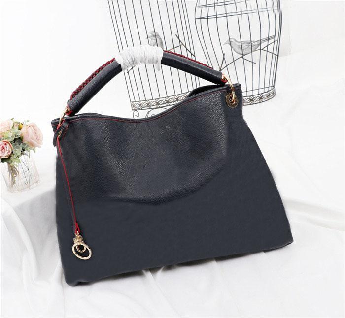 Sacs à main en cuir véritable de haute qualité pour femmes sacs à bandoulière avec sac à poussière