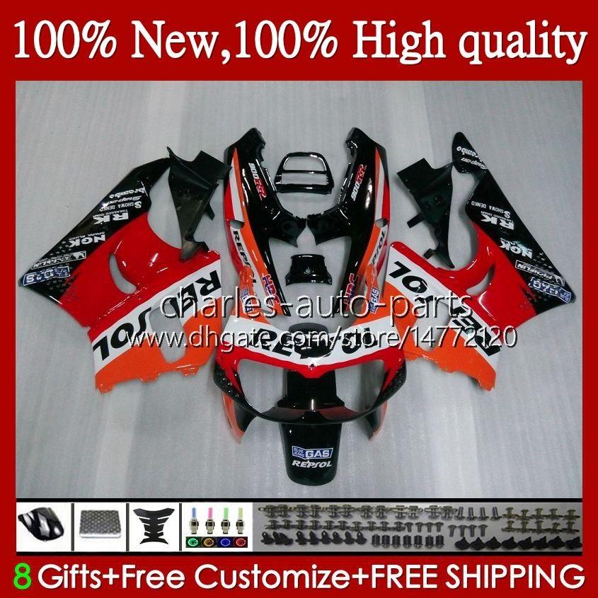 Cuerpo para Honda Repsol Orange CBR 893RR 900RR CBR900 CBR893 900 893 CC RR 95HC.1 CBR900RR 1994 1995 1996 1997 CBR893RR 94 95 96 97 Cargados