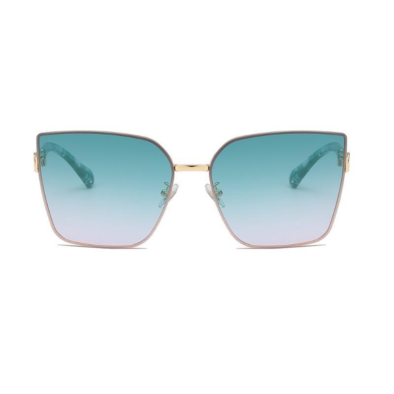 Солнцезащитные очки североамериканские моды с большими квадратами женщин в солнце затенения