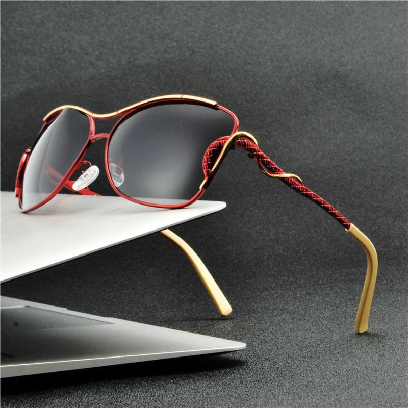 Солнцезащитные очки 2021 Высокое Качество Женщин Очки Винтаж с коробкой Бренд Дизайнер Дамы Sun FML