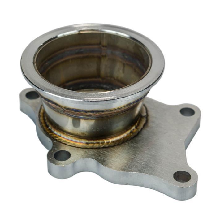 PARTI AUTO MODIFICATI ESPLOSIFIED PARTI AUTO Turbocompressore Base a 5 fori da 3 pollici Adatto per T3 / T4 Turbo