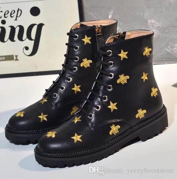 Dernières bottes Martin Desert Boot pour femme 100% cuir véritable Top Qualité Taille de la qualité US 5-8 Fashion Hiver Shoes
