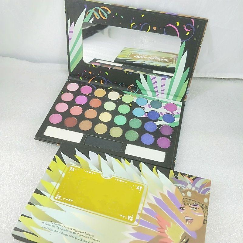 2020 Новый 35 Цветная Тень для век Отверните меня в Бразильскую палитру Eyeshadow Insocock Бесплатная доставка