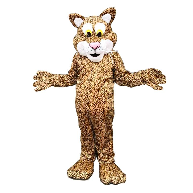 Leopard Tiger Maskottchen Kostüme Cartoon-Figur Erwachsene SZ 100% echtes Bild22
