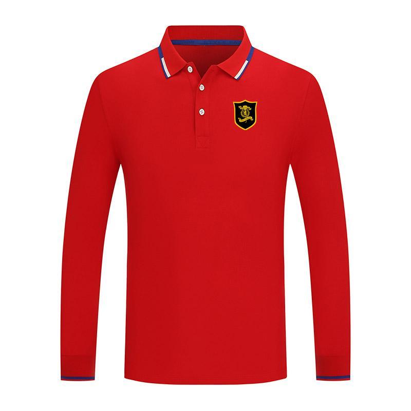 2021 Livingston FC New Long Lever Sports Polo Shirt Polo in cotone Casual Polo da uomo Camicia da golf di alta qualità Camicia