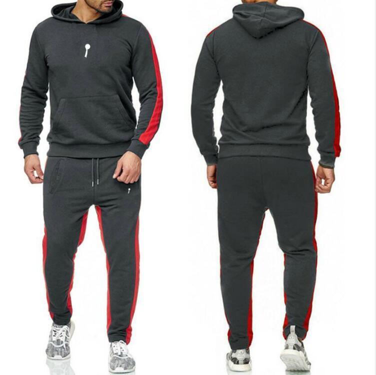Tasarımcı Eşofman Erkekler Lüks Ter Suits Jordàn Erkek Eşofman Jogger Suits Hoodies Ceket + Pantolon Setleri Boş Zaman Erkek Spor Takım Elbise
