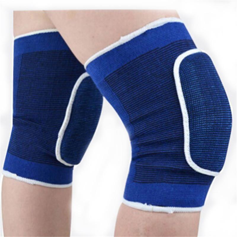Kneepads skate snowboard esportes elástico pulso joelho protetor pads aquecedor para adulto vôlei esportes basquete joelho bandagem