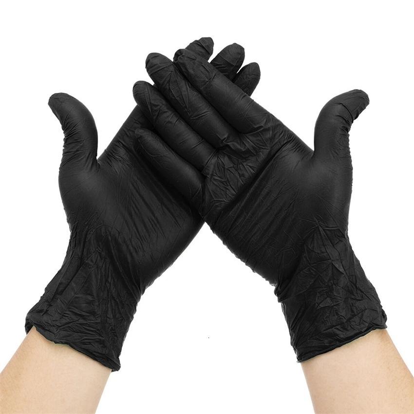 Fábricazfnfactory8fykpowder-isolate isolate 100 pcs luvas de óleo nitrilo bactérias protetoras drop gotas de luva hea