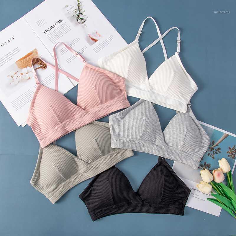 Sexy Women Bra Bralette Lingerie push up bra Cotton flexible For Women Fashion Ins bras Lady Tops Underwear Bralette Hot1