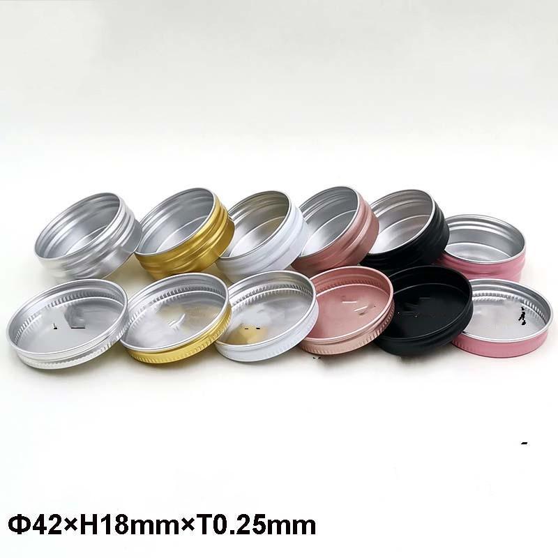 Katı Renk Kutuları Küçük Mini Güzel Organizatör Taşınabilir DIY Kadın Adam Kompakt 15 ml Kozmetik İplik Durumda Moda Malzemeleri 0 78FP K2