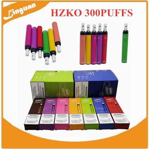Hzko 일회용 포드 장치 500mAh 전원 배터리 미리 채워진 3ml 포드 300 퍼프 vape 빈 펜 대 퍼프 XXL 플러스 바 에어 바