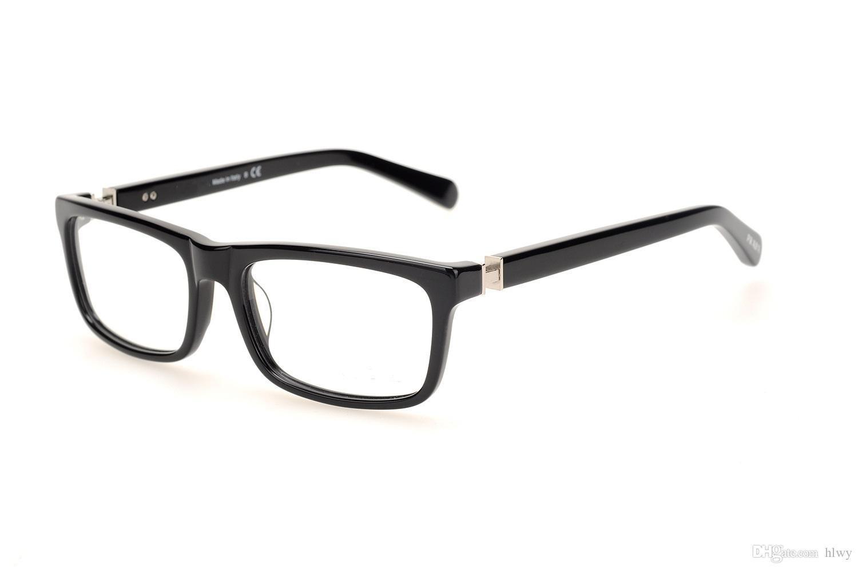 النظارات الإطار العلامة التجارية مصمم النظارات الإطار مع واضحة عدسة النظارات البصرية إطارات 06n قصر النظر النظارات للرجال النساء oculos دي غراو