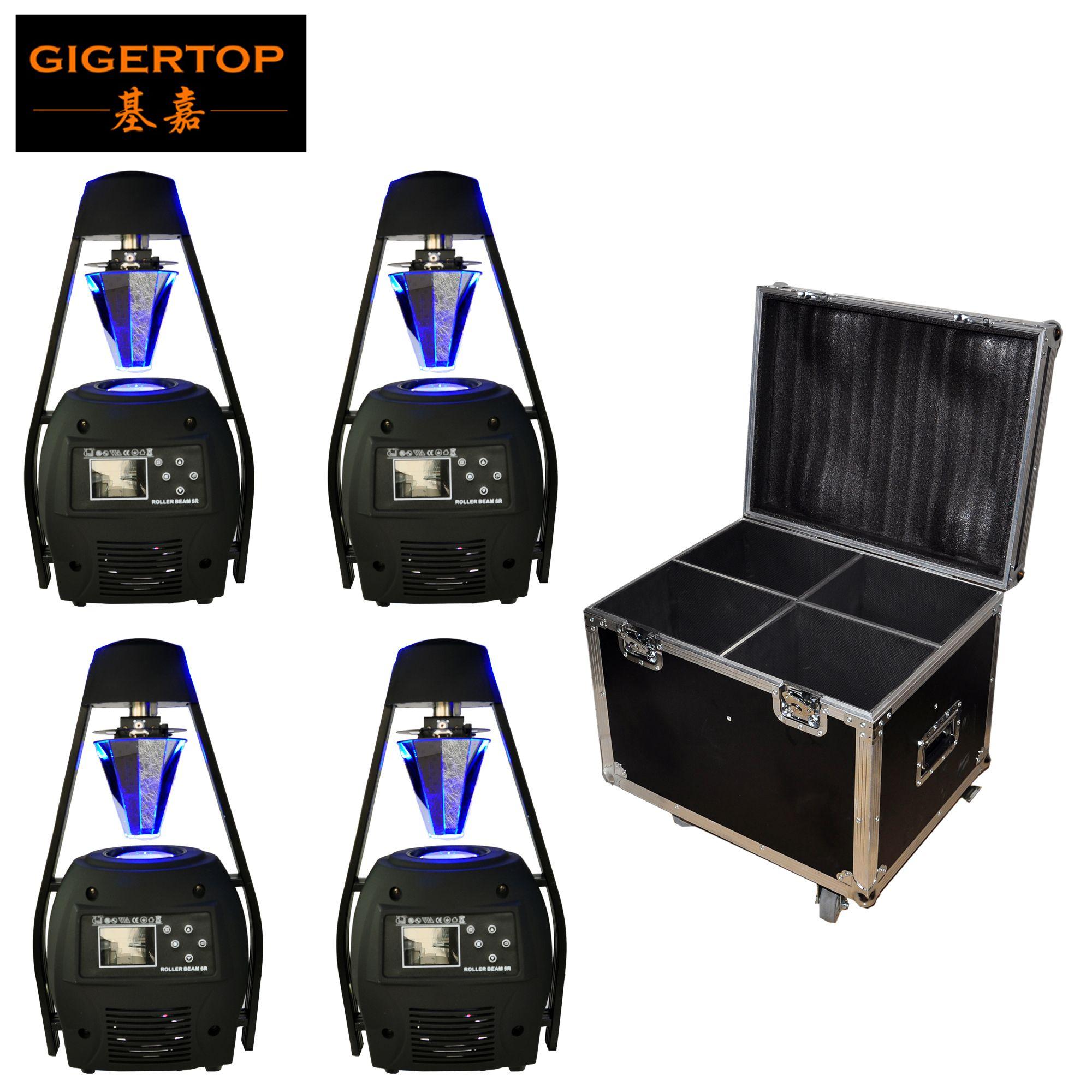 Road Case 4in1 Verpakking 5R Rolling Mirror Stage Scanner Light DMX512 Besturing 9 Kanalen LCD-scherm MSD PLATINUM 5R 8500K 100V-220V