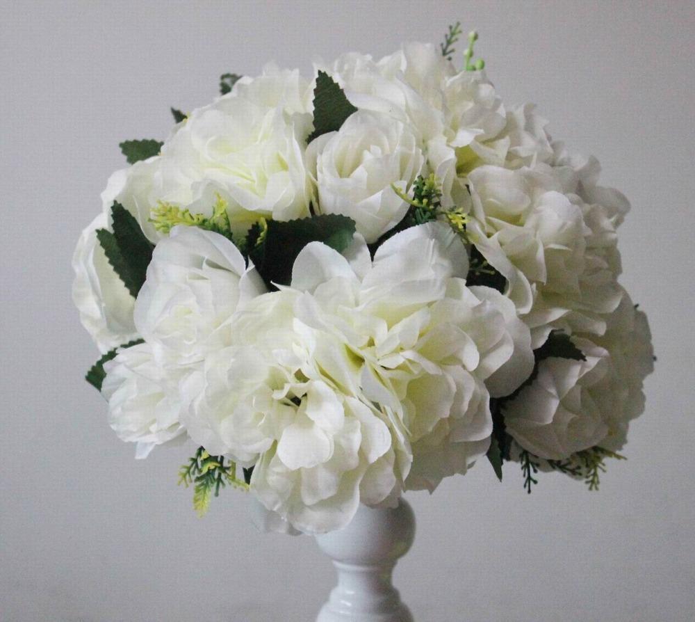 Искусственные цветы свадьба дорога свинца лаванда стол цветы, стол центрального