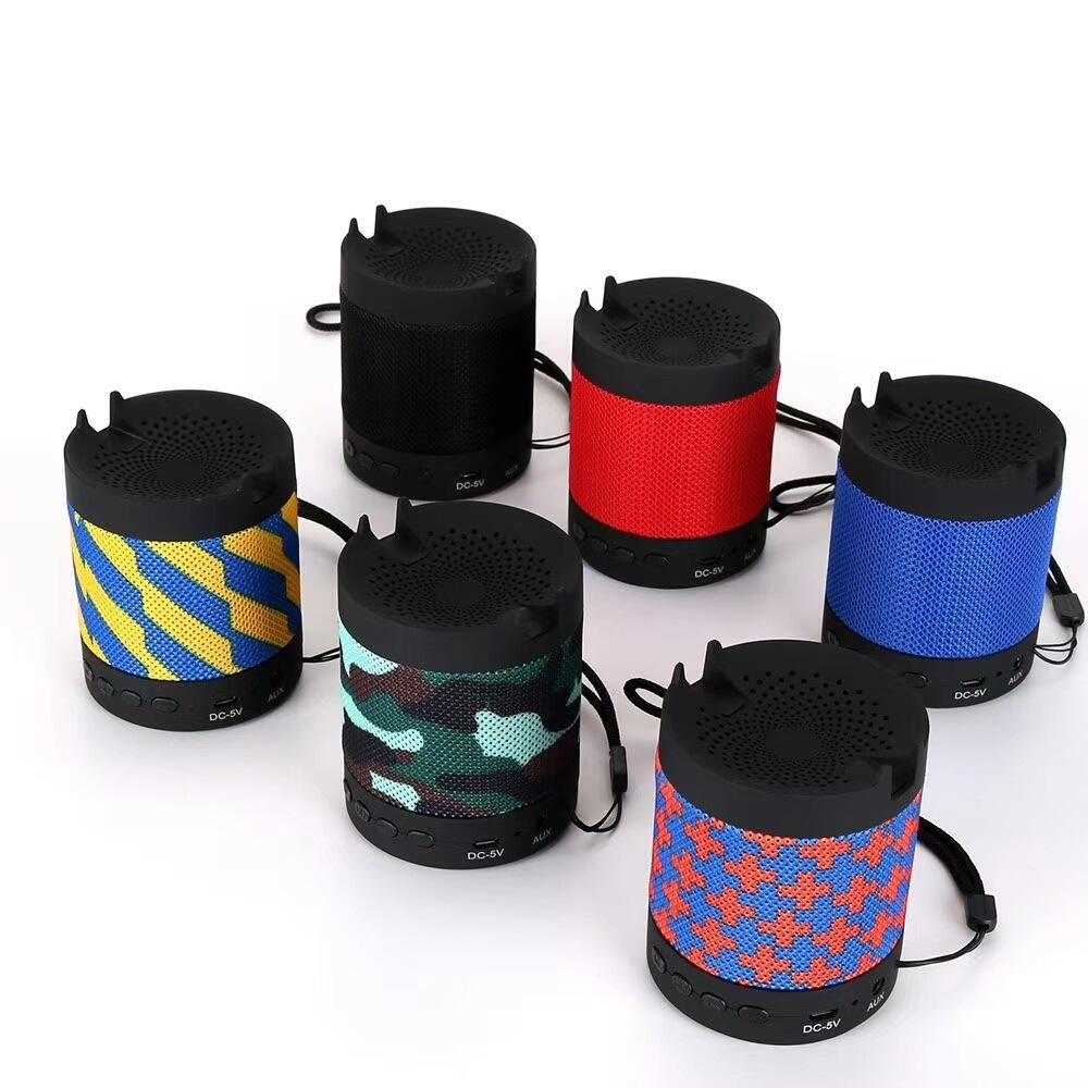 Multifunzione USB Bluetooth Speaker Wireless Aspirazione Chuck Speaker Car Speaker Mini MP3 Super Bass Call Ricevi supporto telefono per TF Card