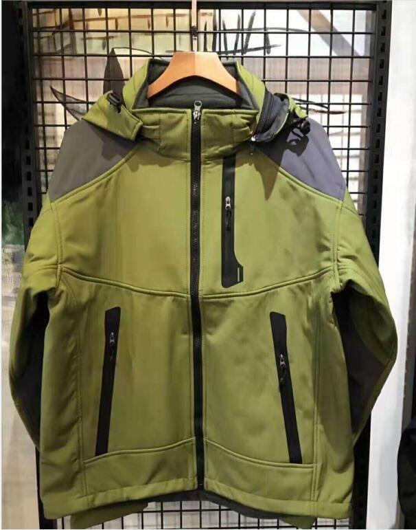 2021 Мода Бренд Водонепроницаемая Дышащая Куртка Мужчины на открытом воздухе Спортивные пальто Женщины лыжные Пешие прогулки Ветрозащитный Зимний Верхний Куртки Размер S-3XL