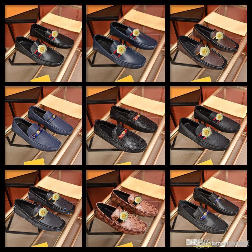 M3 Hommes Mocassins Chaussures 2020 Automne Fashion Hommes Flats Mocassins Mocassins Chaussures masculines Chaussures Confy Sude Sude Hommes Chaussures Hommes Casual Chaussures 33