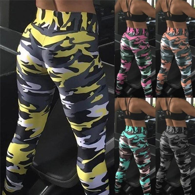 Donne vitali vitali senza cuciture pantaloni camuffamento alto elastico push up gym leggings sport fitness in esecuzione leggings femmina