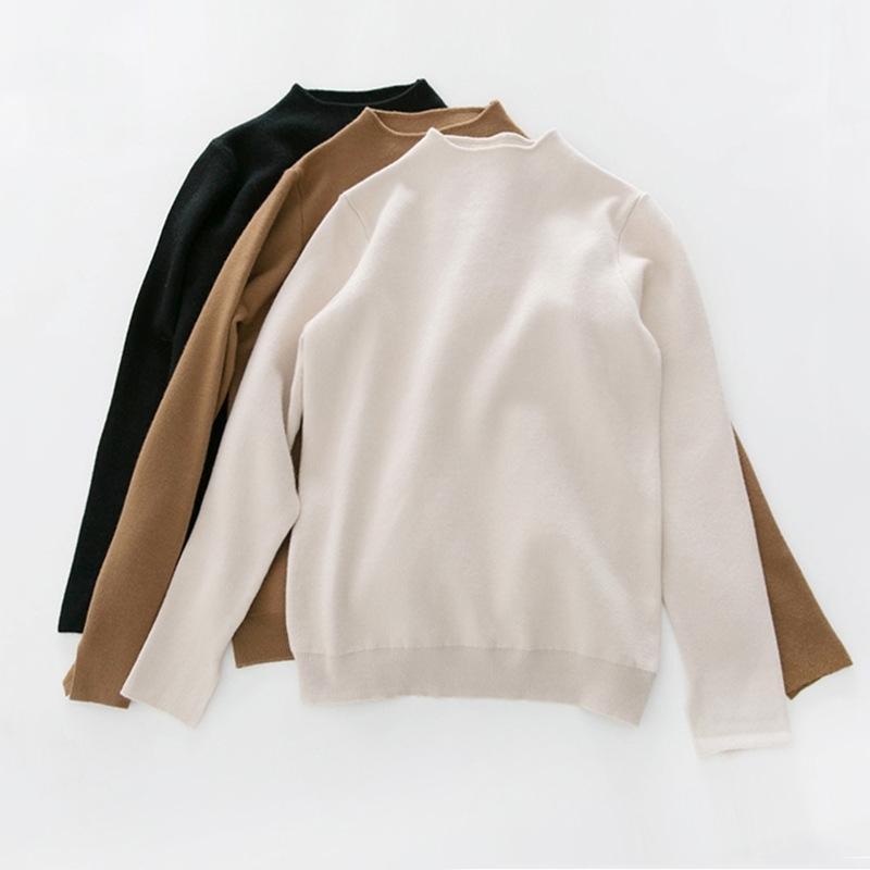 Ropa de Invierno Mujer Vintage Maglione Sweater Sweater Gru Maglione LJ201017