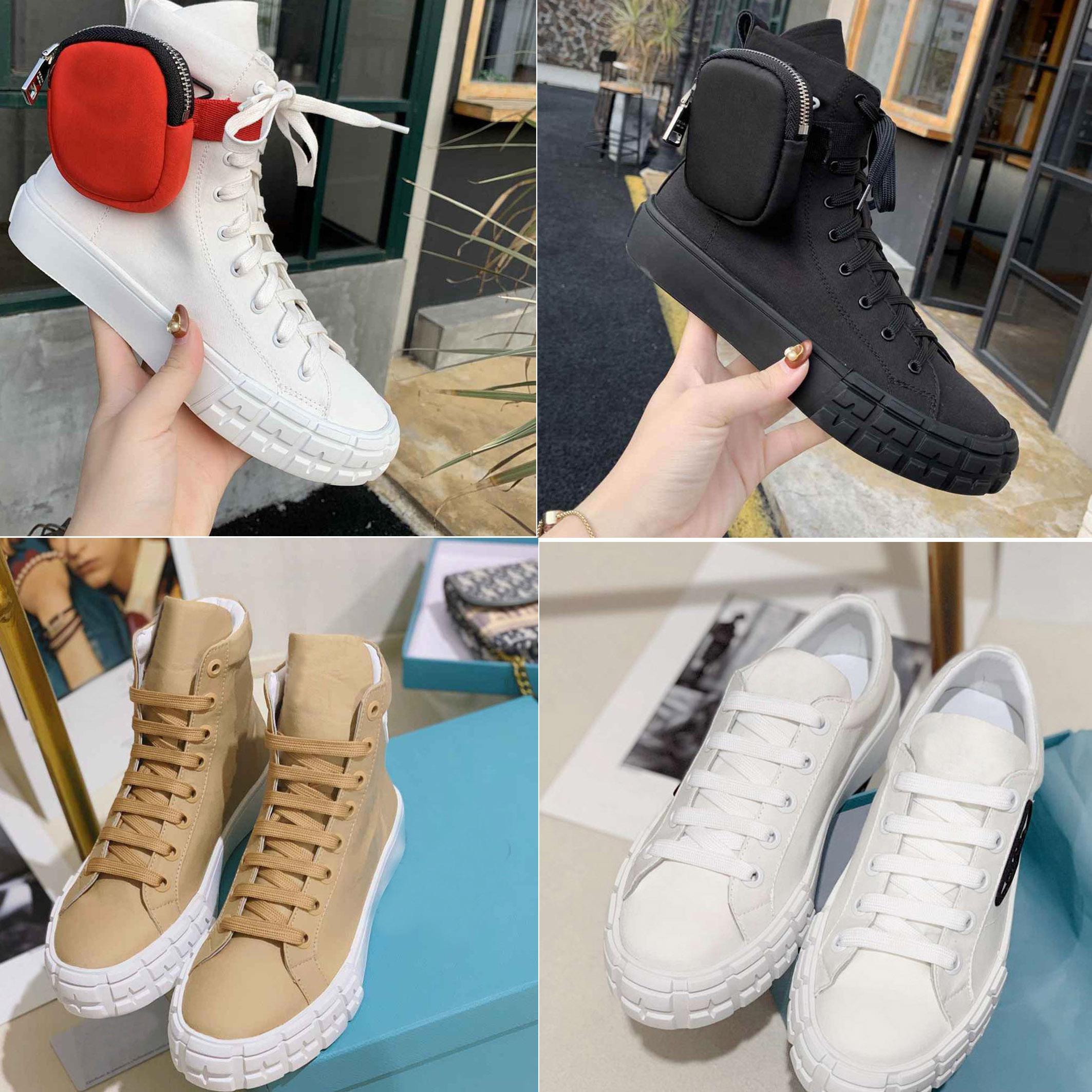 2021 Nuevos zapatos de lona superior altos y bajos Los amantes del color sólido Casual lienzo zapatos de alta calidad