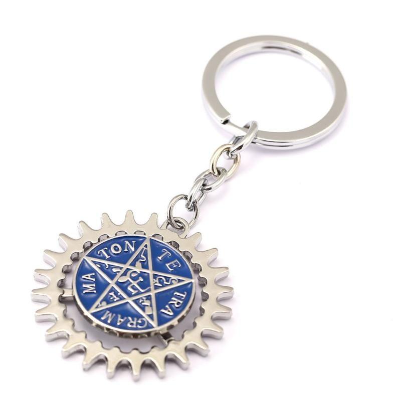 MS Schmuck Black Butler Keychain drehbare böse augen schlüsselring halter geschenk chaveiro auto schlüsselanhänger anhaft anime souvenir