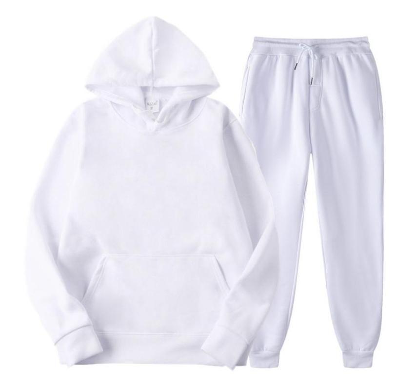 Tracksuit Hommes Sweatshirts Costume, Hommes et Femmes Spring et Automne Hoodie Hommes Set