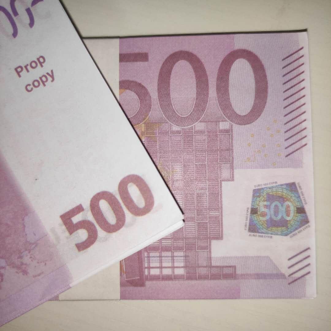 Magic Prop дети подарок реквизит банкноты фунт новая контрафактная игрушка игрушка из искусственной бумаги 500 евро билет LE500-19 Anauau Fllie