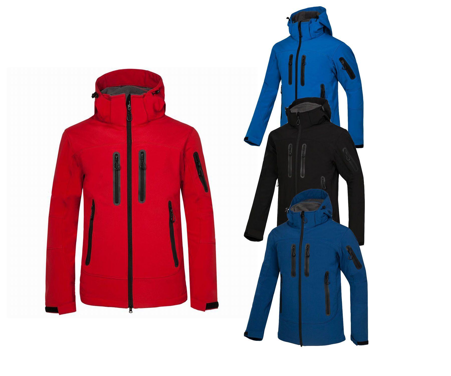 Campeggio all'aperto da uomo di trasporto libero campeggio escursionismo giacca sportiva a vento giacca a guscio morbido cappotto sportivo all'aperto