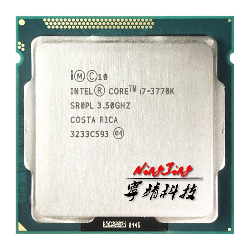 Intel Core i7-3770K I7 3770K 3.5 GHz Procesador de CPU cuádruple 8M 77W LGA 1155