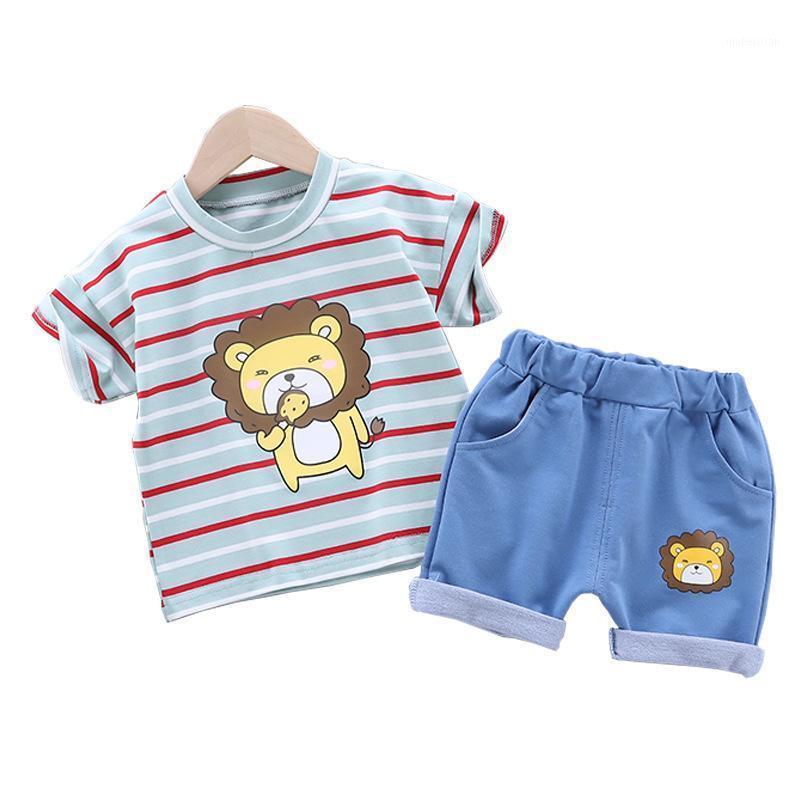 2020 meninas de bebê conjuntos de roupas de verão t-shirt de algodão + shorts globais 2 pcs tracksuits para meninas toddler moda outfit1