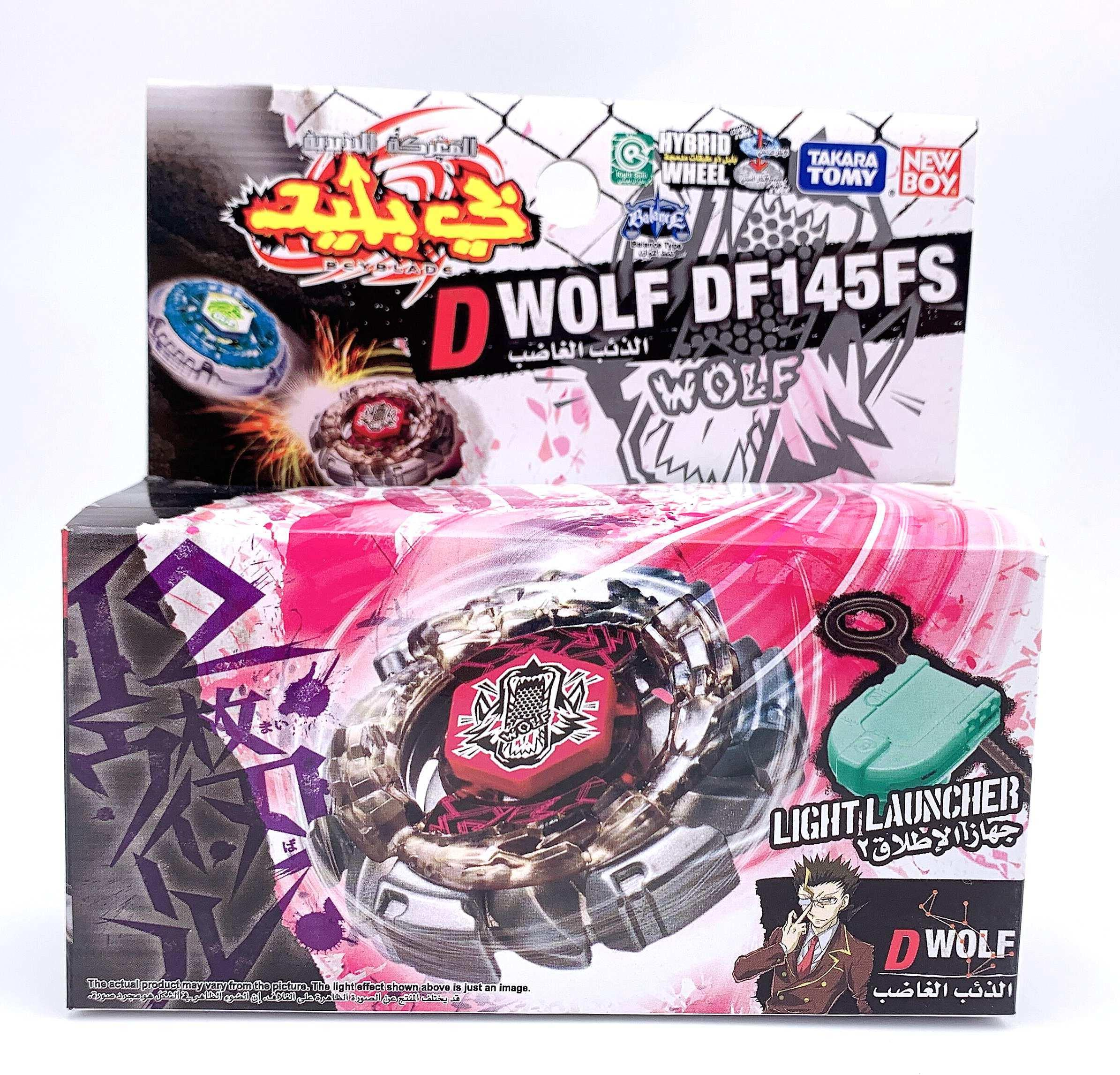 Original Takara Tomy Dark Wolf DF145FS Beyblade (BB29) Q1201