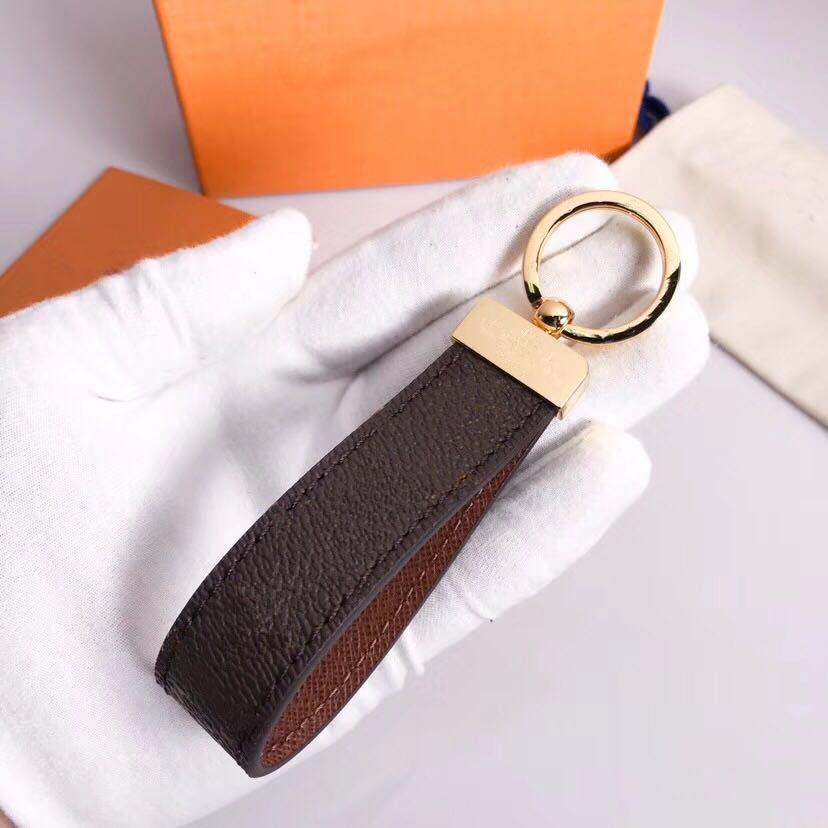 Fashion Designer di lusso Handmade PU in pelle di cuoio auto portachiavi di stile Designer di moda portachiavi donna borsa a fascino accessori pendente