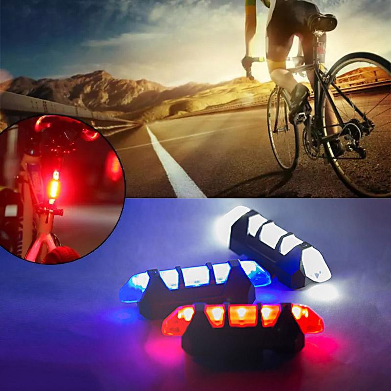 Bisiklet Fren lambaları Su Geçirmez Arka Kuyruk Işık LED USB Şarj Edilebilir Dağ Bisiklet Işık Güvenlik Uyarı Işığı Ücretsiz Kargo