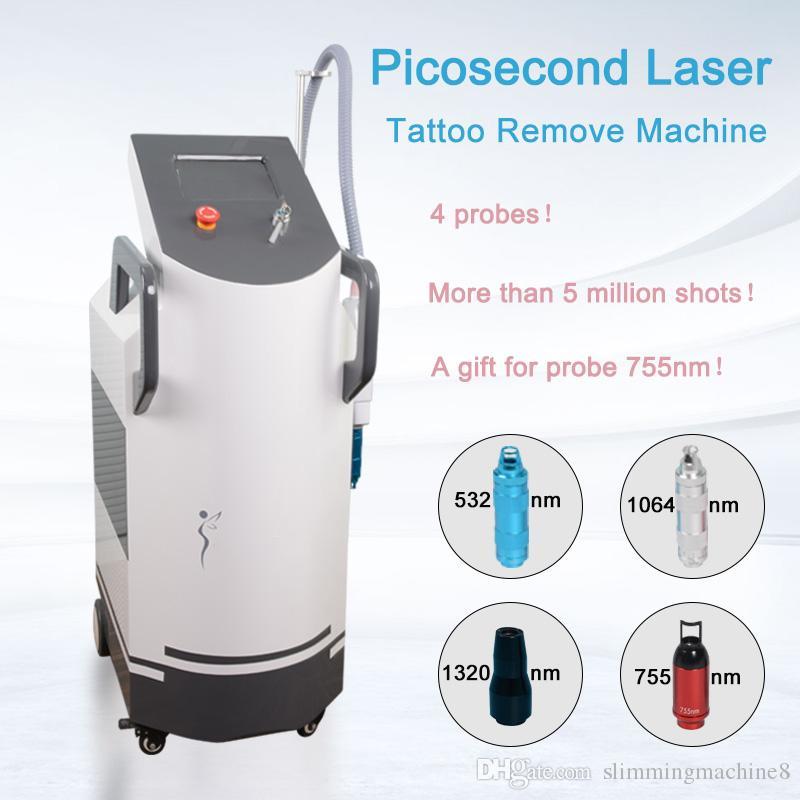 Beauté professionnelle PicoSecond Laser Tatouages Équipement de déménagement Spot Mole Diode Pico Laser Accueil Machine Importé Équipement de spa utilisé