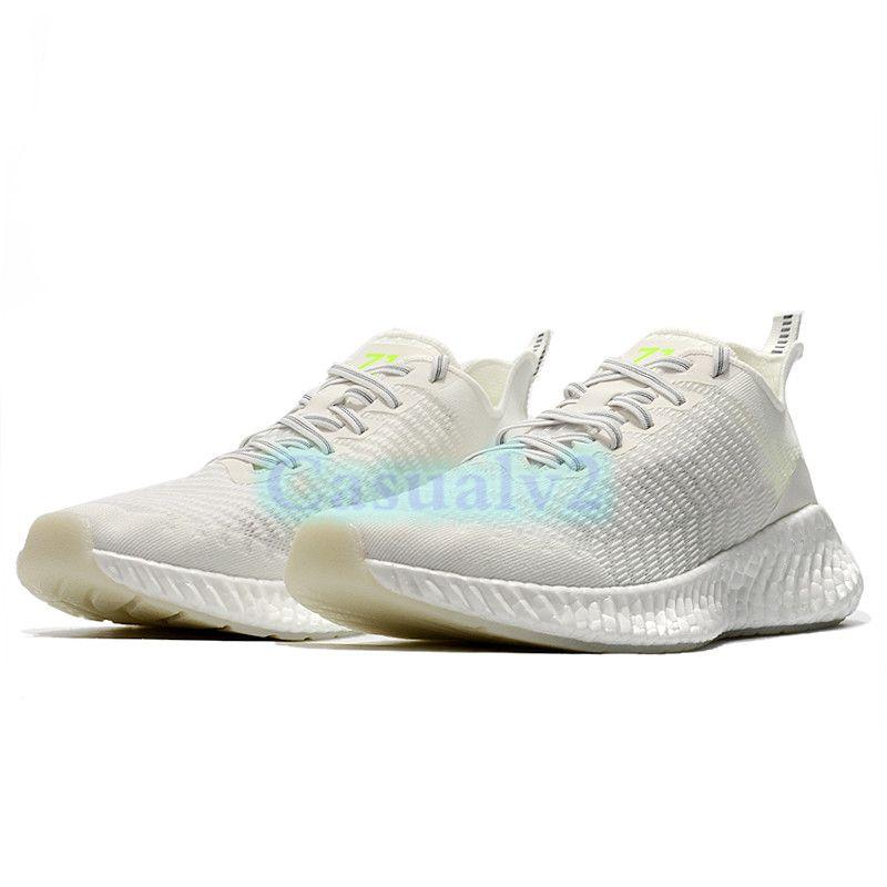 Hot Treperi BASF RUNNER 711 Zapatillas de deporte reflectantes Crema Entrenadores blancos Hombres Mujeres Correr Zapatillas US 8 EUR 39 para mujeres