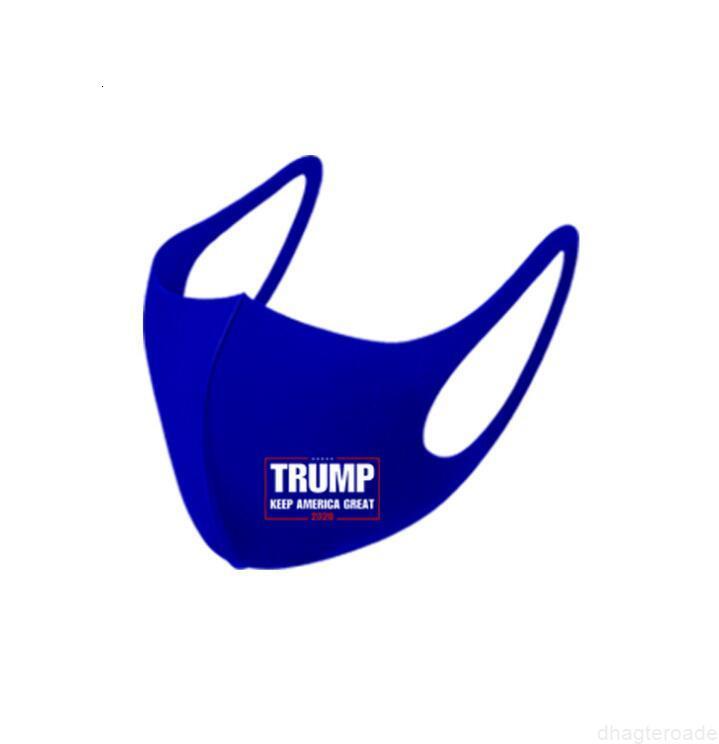 Maske 2020 Seçim Buz Ipek Amerika Trump Tutmak Büyük Yine Anti Toz Kirliliği Ağız Kapak Parti Yüz Maskeleri LSK576