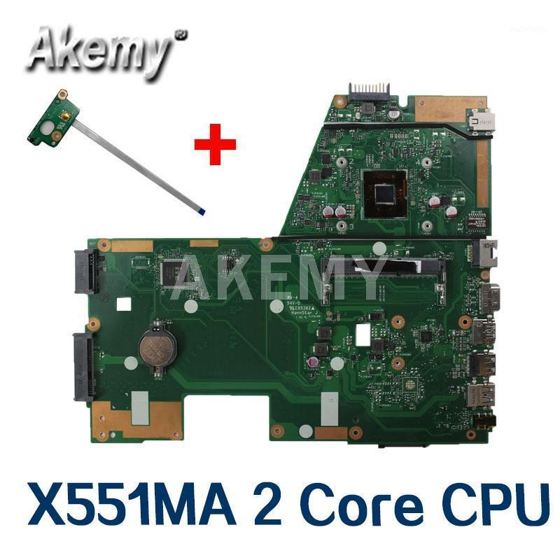 Amazoon X551MA Laptop motherboard For Asus X551MA X551M X551 F551MA D550M Test original mainboard 2 Core CPU N28401