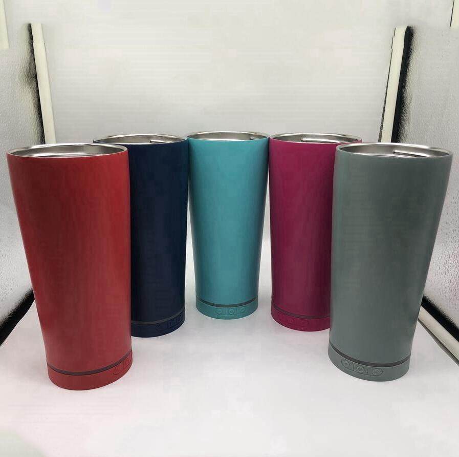 Speaker Cup Bluetooth Outdoor Portable Waterproof Loudspeaker Glass Milk Beer Mug Wireless Smart Music With Lid Tumbler SEASHIPPING LJJP835